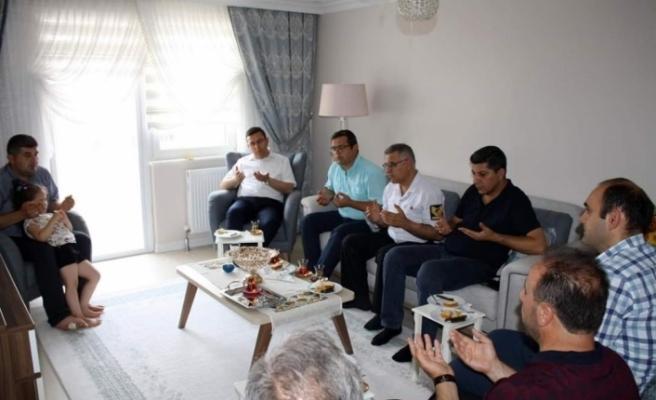 Çaycuma'da 15 Temmuz ziyaretleri!