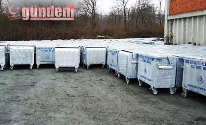 Ereğli köylerine çöp konteyneri dağıtılacak