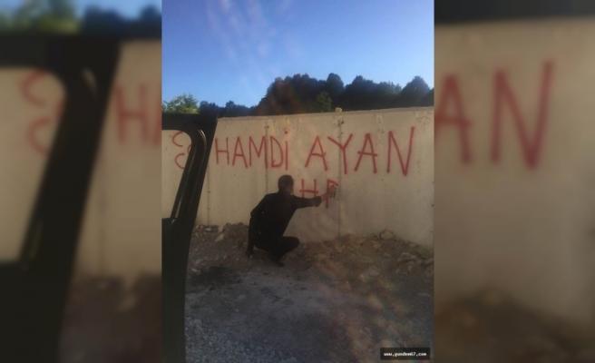 Gençlik kolları değil MHP İl Başkanı!