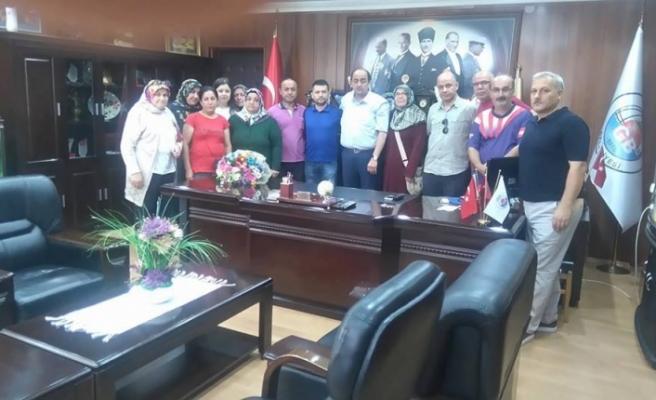 Başkan Demirtaş'a teşekkür ziyareti