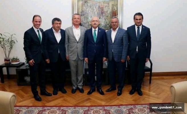 Kılıçdaroğlu, Zonguldak'lı Başkanları ağırladı