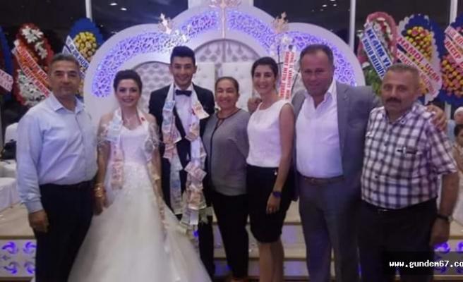 Şaban Yılmaz biricik kızını evlendirdi