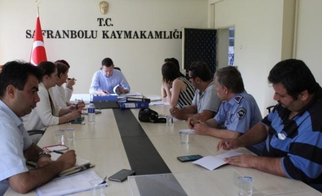 SADEP koordinasyon toplantısını gerçekleştirdi