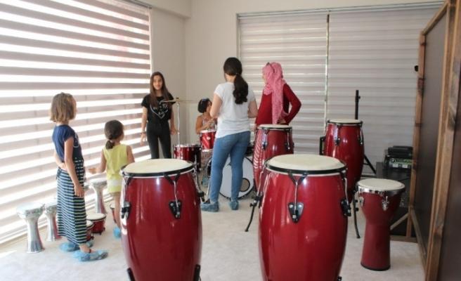 Sanatsal beceriler için müzik okulu açıldı
