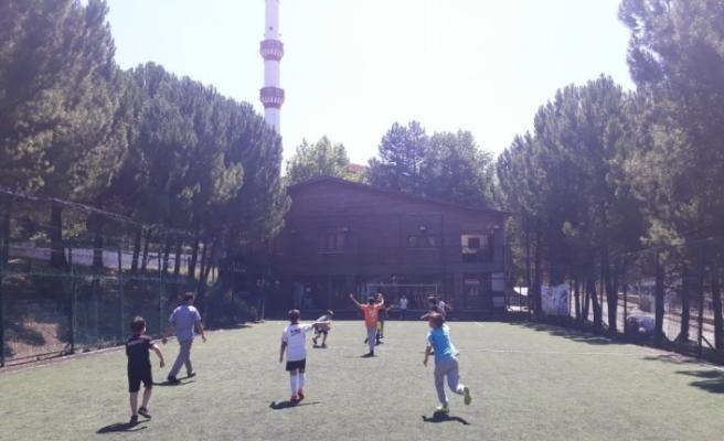 SAKEM'deki çocuklar halı saha turnuvalarında karşılaşacak