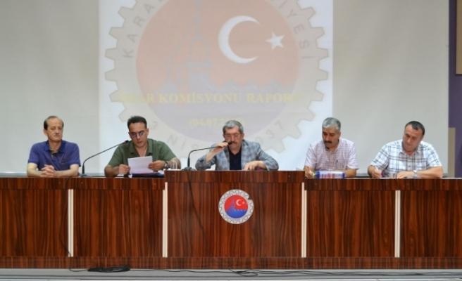 Temmuz ayı meclis toplantısı yapıldı