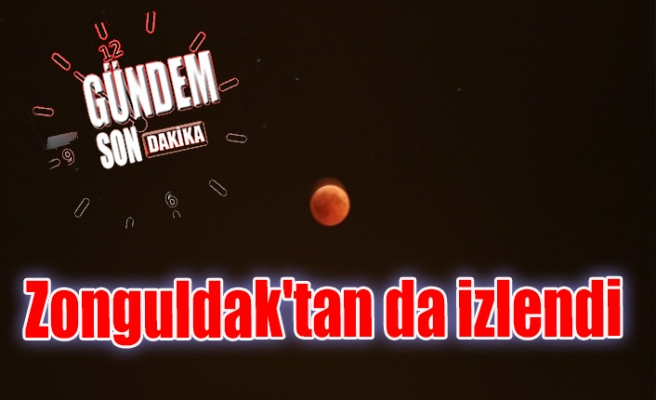Zonguldak'tan da izlendi