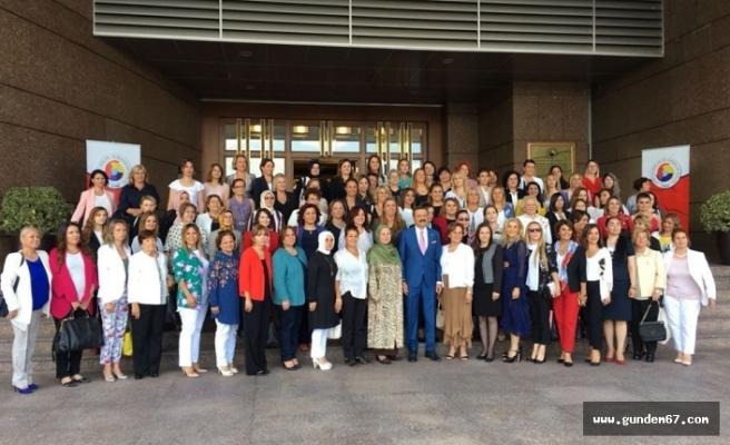 Zonguldaklı iş kadınlarından ziyaret!