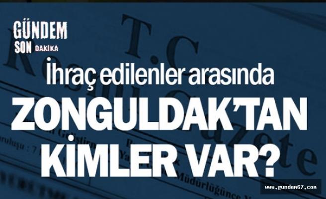 Zonguldak'tan çok sayıda ihraç var