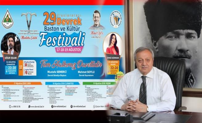 Başkan Semerci: 'Festivalimiz çok renkli geçecek'