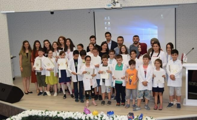 Düzce Çocuk Teknopark 3. dönem eğitimi sona erdi
