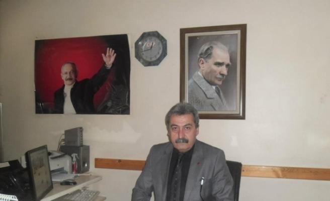 CHP Safranbolu İlçe Başkanı Ayhan görevinden istifa etti