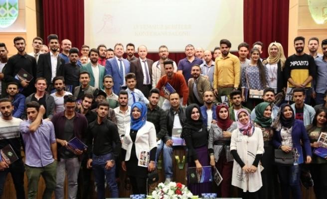 Iraklı misafir öğrencilere 11 farklı kurs eğitimi verildi