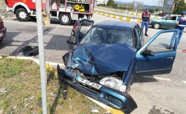Zonguldak'ta Kaza, 7 yaralı
