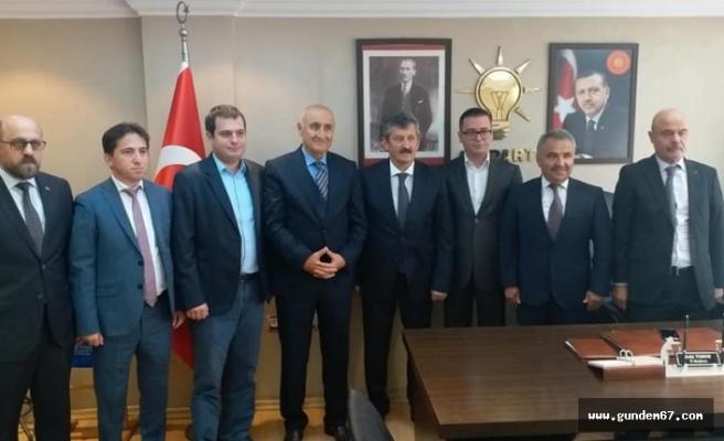 Baro'dan AK Parti ziyareti!..