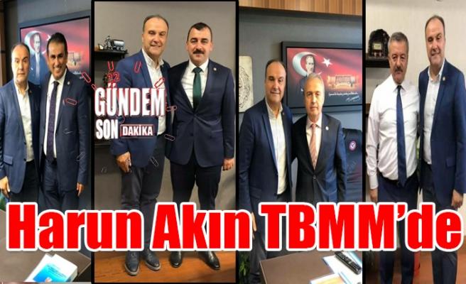 Harun Akın TBMM'de