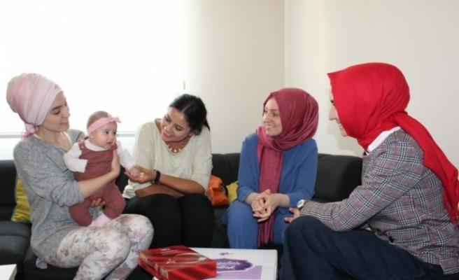 'Hoş Geldin Bebek' projesi ziyaretleri sürüyor