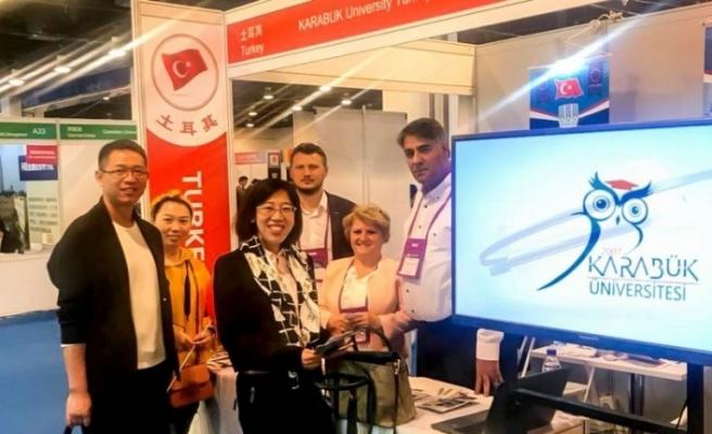 KBÜ, Çin'in en büyük eğitim fuarında yer aldı