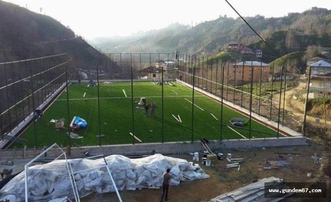 Mumcuoğlu'na futbol sahası yapılacak