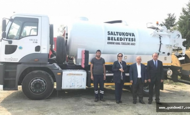 Saltukova Belediyesi yeni araçlarına kavustu.