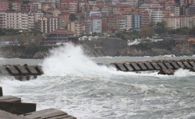 Zonguldak'ta Şiddetli Rüzgar!..