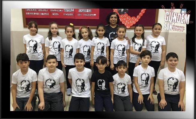 467 Evler İlkokulu öğrencilerinden Oratoryo