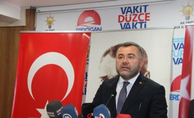 AK Parti Düzce il başkanı Keskin, seçim sürecini anlattı