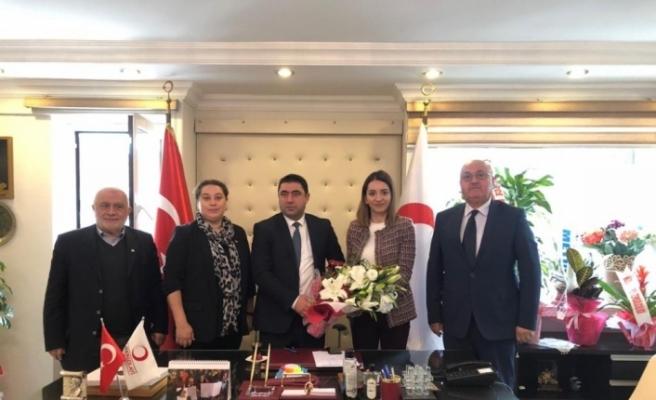 Başkan Yardımcısı Cebar'dan Kızılay'a ziyaret