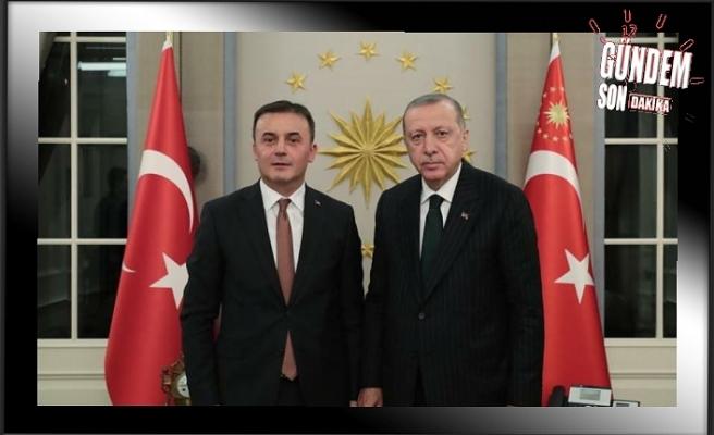 Cumhurbaşkanı Erdoğan'a 'Kocaman' ziyareti