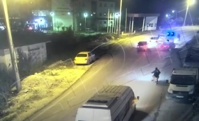 Drift atan sürücüleri polis affetmedi