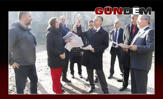 Erdoğan Bektaş, Projeleri sahada inceledi