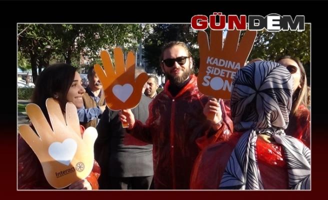 Ereğli şiddete karşı yürüdü!..