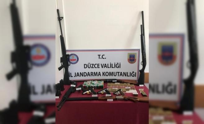 Jandarmadan kaçak silah operasyonu: 2 tutuklama
