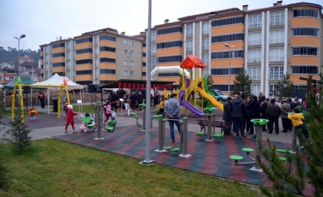 Karabük'te 115. Parkın açılışı yapıldı