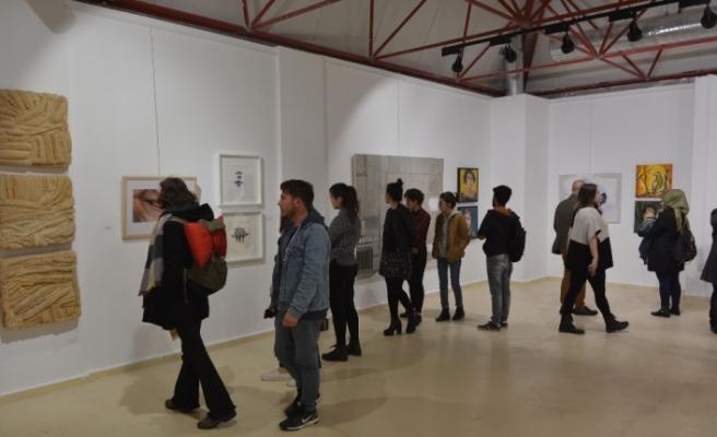 Melez görmek başlıklı sergi sanatseverlerle buluştu