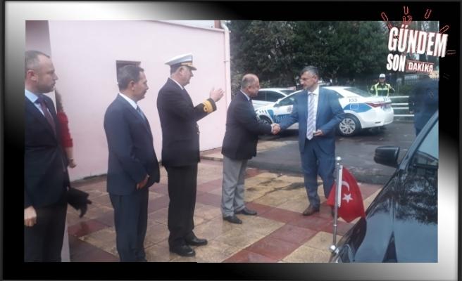 Vali Bektaş'ın ilk resmi ziyareti Ereğli'ye…