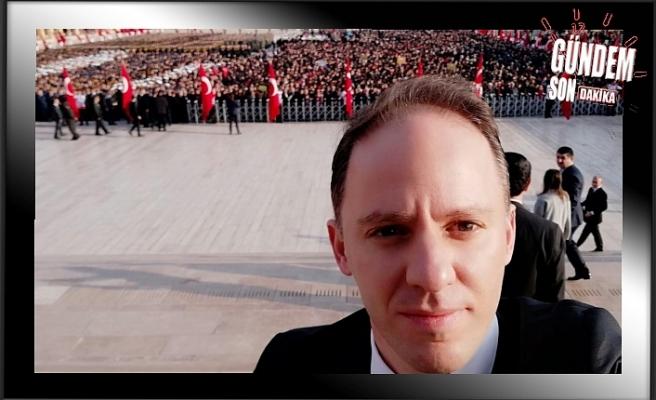 Yavuzyılmaz 'Ata'yı Anıtkabirde andı