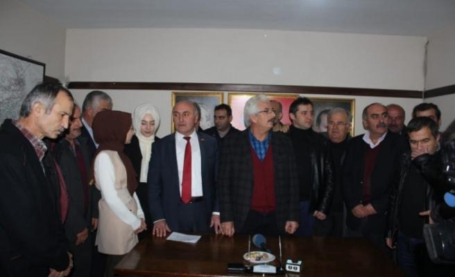 Ahmet Sözen İl Genel Meclis üyeliği başvurusunu yaptı