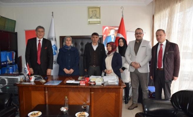 AK Parti teşkilatından anlamlı ziyaret