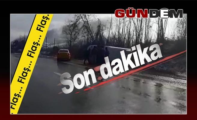 Ankara yolunda feci kaza!..