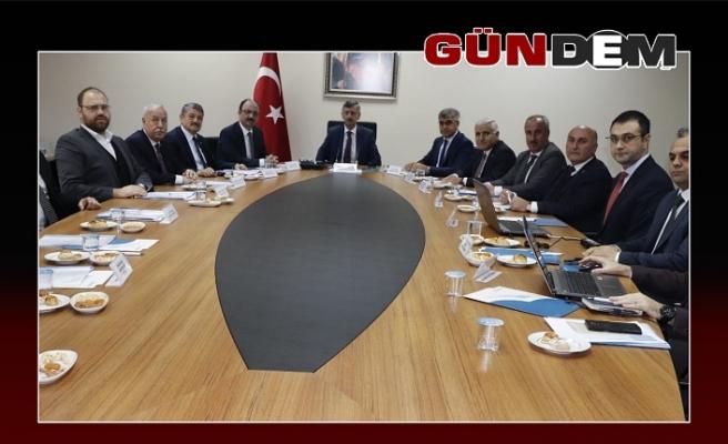 BAKKA'nın son toplantısı Vali Bektaş başkanlığında yapıldı