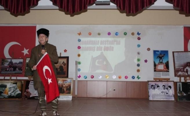 Çanakkale Gazisi Hüseyin Kaçmaz'ın oğlu Çanakkale'yi anlattı
