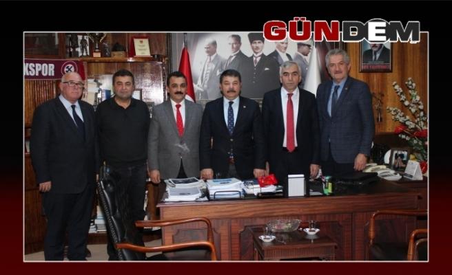 CHP'den GMİS'e ziyaret