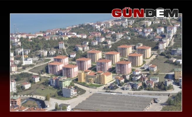 Düzce'de Kasım ayında 650 konut satıldı