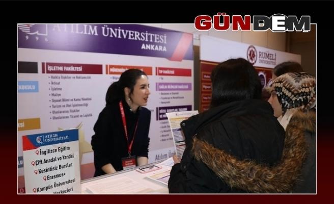 EKET Fuarında Atılım Üniversitesi'ne büyük ilgi!..