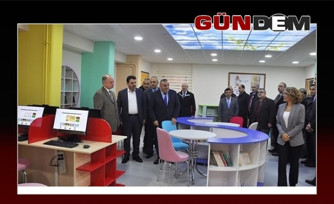 Ereğli'de ilk 'Z Kütüphane' açıldı