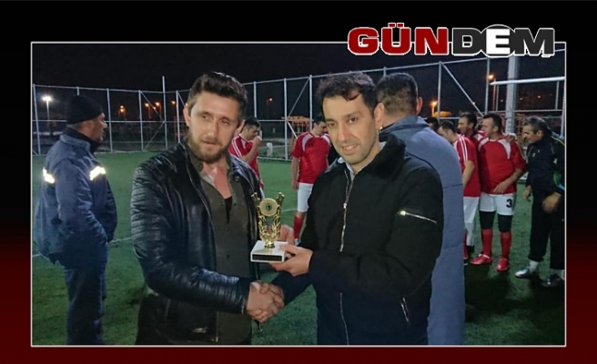 İtfaiye-Zabıta Takımı şampiyon oldu