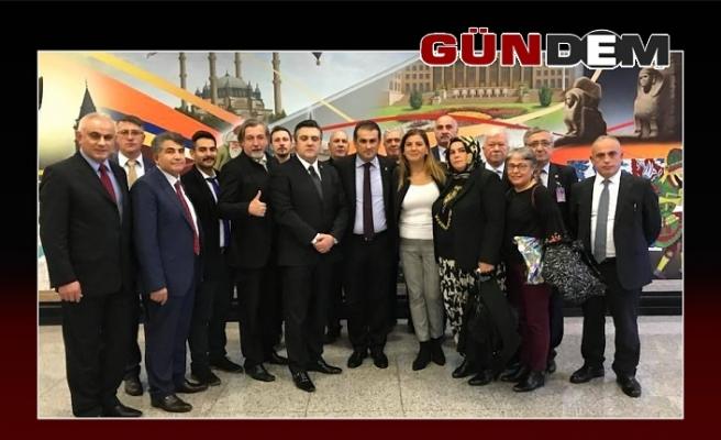 Müftüoğlu'dan Demirtaş'a ziyaret