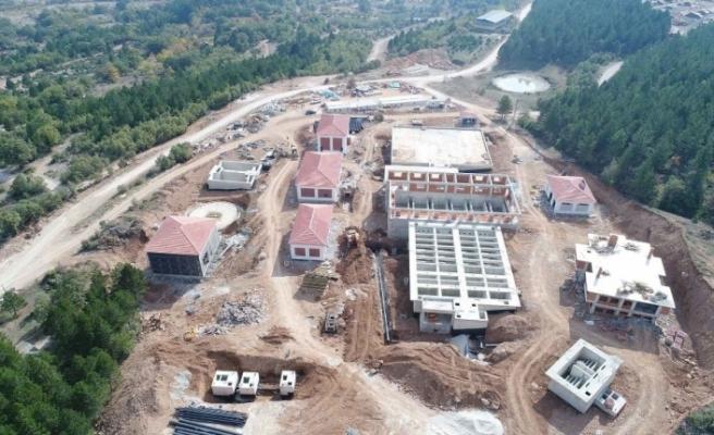 Safranbolu içme suyu arıtma tesisinde çalışmalar sürüyor