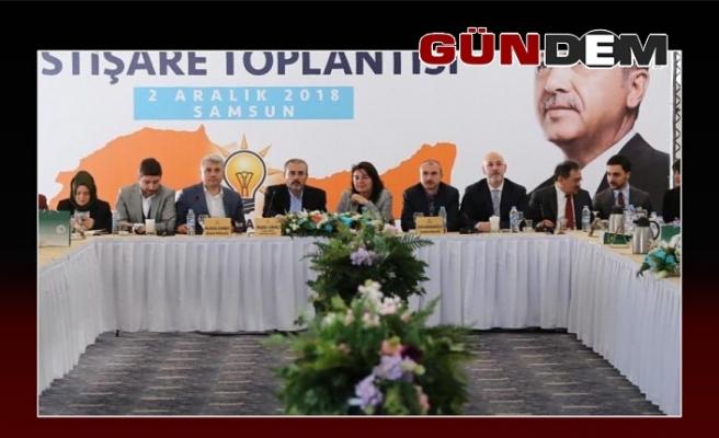 Samsun'da toplandılar